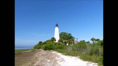 St Marks Lighthouse, Tallahassee, Florida Refuge for ducks , birds and (watch out) alligators, too !!  1831