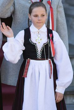 Princess Ingrid Alexandra of Norway celebrates National Day on May 17, 2016 in Asker, Norway