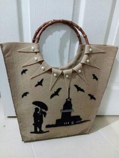Keçeden çanta