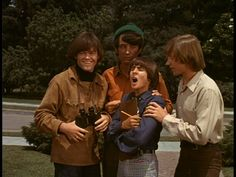 Monkees at Columbia Ranch during shooting for the Monkees TV show 1967