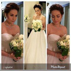 """A BEAutiful bride.... another @rosa_clara gown wore by This Generations Movie Queen @beaalonzo and styled by #tunaynaganda @nancyarcega07 .... Abangan kung ano ang mangyayari sa huling gabi ng pasabog ng #SBPAK1Self  By @ighel04 """"@beaalonzo styled by #tunaynaganda @nancyarcega07 gown by @rosa_clara  tutok na sa huling pasabog ng #SanaBukasPaAngKahapon RoseLeo wedding? RosePatrick wedding? Abangan ang huling gabi ng #SanaBukasPaAngKahapon """" via @PhotoRepost_app"""