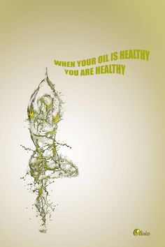 Olive oil campaign where i tried to connect health with olive oil with simplicity. Creative Poster Design, Ads Creative, Creative Posters, Creative Advertising, Graphic Design Posters, Advertising Design, Cow Ghee, Cosmetic Labels, Cold Pressed Oil
