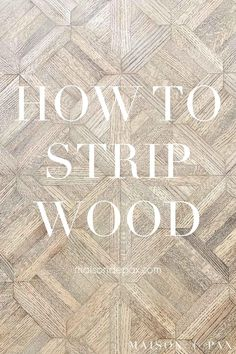 Stripping old wood stain and varnish is the first step in refinishing Wood furniture. Find out how to remove wood stain and varnish! #diyproject #diningtable #naturalwood Refinish Wood Furniture, Building Furniture, Stripping Furniture, Furniture Projects, Furniture Makeover, Painted Furniture, Diy Furniture, Home Building Tips, Before And After Diy
