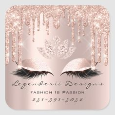 Shop Quinceañeras Sweet Bridal Spark Princess Square Sticker created by luxury_luxury. Beauty Lash, Glitter Gifts, Beauty Studio, Aesthetic Makeup, Eyebrow Makeup, Bridal Makeup, Custom Stickers, Lashes, Wax
