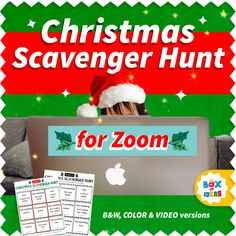 Virtual Christmas Scavenger Hunt Game for Kids• Printable Clues Cards • Family Holiday Party Games for Zoom • Xmas Morning Activity Virtual Games For Kids, Activities For Kids, Christmas Games To Play, Christmas Ideas, Xmas, Christmas Scavenger Hunt, Holiday Party Games, Scavenger Hunt For Kids, Kids Moves