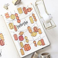 aaand here it is!:) my september cover page!i wanted to do a lantern theme for so long and as did one for her january aaand here it is!:) my september cover page!i wanted to do a lantern theme for so long and as did one for her january February Bullet Journal, Bullet Journal Cover Ideas, Bullet Journal Monthly Spread, Bullet Journal 2020, Bullet Journal Aesthetic, Bullet Journal Writing, Bullet Journal Themes, Journal Covers, Bullet Journal Inspiration