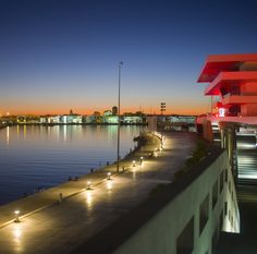 The harbour of Valencia in Spain hosts some very interesting modern architecture