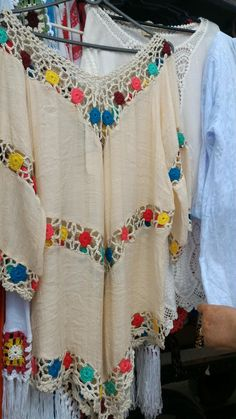 Crochet Jacket, Crochet Blouse, Knit Crochet, Crochet Fabric, Couture, Blouse Patterns, Crochet Fashion, Hippie Chic, Teen Fashion