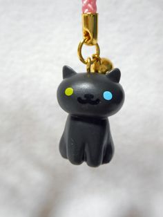 Neko Atsume Cat Netsuke Strap (Odd-san) Japan Hit-Point