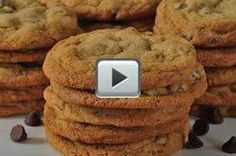 Chocolate Chip Cookies - Joyofbaking.com *sub date sugar & maple syrup. Use TJs chocolate bar, crushed to sub for choc chips*