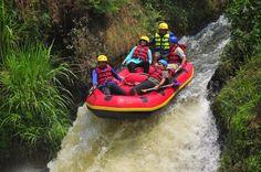Water fall at Kasembon River