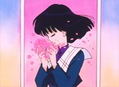 "Hotaru / Sailor Saturn    Sailor Moon S  Episode 116    Thorny Weather    Jap.116 ""Sunny Skies After a Storm! A Friendship Dedicated to Hotaru"""