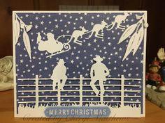 Australian Christmas Cards, Aussie Christmas, Christmas Cards To Make, Xmas Cards, Christmas Crafts, Card Making Inspiration, Making Ideas, Westerns, Christmas In Australia