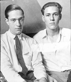 """Nathan Leopold, Jr. & Richard Loeb were a duo of killers who attempted to commit the perfect crime by kidnapping and stabbing a teenage boy named Robert ""Bobby"" Franks in 1924.  ""Leopold and Loeb"" as they were collectively known, were both wealthy sons of prominent Chicago families.  Each was a brilliant student and child prodigy,  so much so that they believed they were ""Nietzschean supermen"" whose superior intellects entitled them to 'kill for the thrill' and evade capture."""