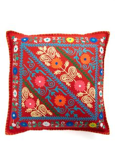 Brights and Songs pillow by Karma Living