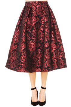 Festive Rose Skirt