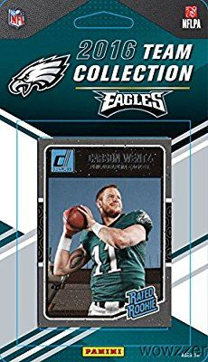 Philadelphia Eagles 2016 Donruss NFL Football Factory Sealed Limited Edition 12 Card Complete Team Set with CARSON WENTZ RC, Ryan Mathews, Legend Ron Jaworski & Many More! Shipped in Bubble Mailer!