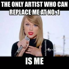The only artist who can break her own records!