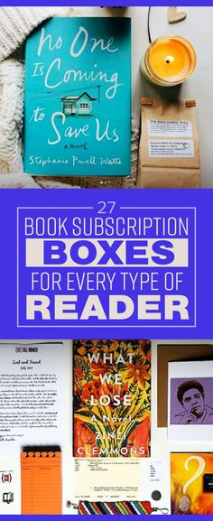 27 Book Subscription Boxes