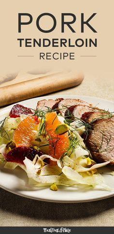 Smoky paprika and vibrant citrus make for a juicy pork tenderloin that pairs perfectly with a crunchy fennel salad.
