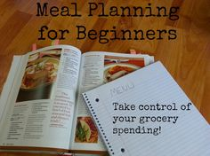 Follow these 5 simple steps to planning your meals and take control of your grocery spending! www.nogettingoffthistrain.com