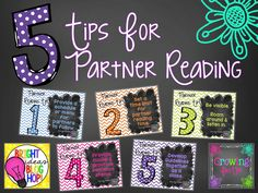 Partner Reading Tip...Bright Ideas Linky Party