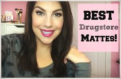 Best Matte Drugstore Makeup! Cheeks, Eyes, Lips