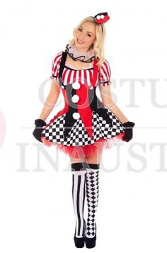 View both Circus Costumes and decide which you think is the best design. There are a lot of options available at our site and they must be seen.  Gorgeous designs, perfect for any fancy dress party!