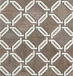 Walker Zanger Sterling Row Link x Porcelain Wood Grain Tile, Wood Look Tile, Floor Patterns, Tile Patterns, Walker Zanger, Black And White Marble, Painting Wallpaper, Mosaic Designs, Backgrounds