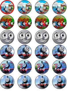 Thomas And Friends Charlie The Tank Engine Train Cake Topper Model Kit