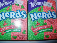 I used to love Nerds  - and Runts and Dweebs too. Now if you can find an American Candy shop that sells them you have to pay a fortune for them.