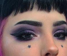 grunge makeup – Hair and beauty tips, tricks and tutorials Punk Makeup, Gothic Makeup, Grunge Makeup, Makeup Art, Hair Makeup, Goth Eye Makeup, Makeup Desk, Make Up Looks, Makeup Inspo