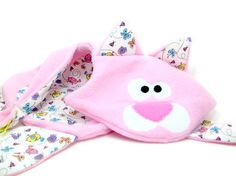 Animal Security Blanket  Unstuffed Toy - Cat Blankey by Little Dog Laughs $32.00