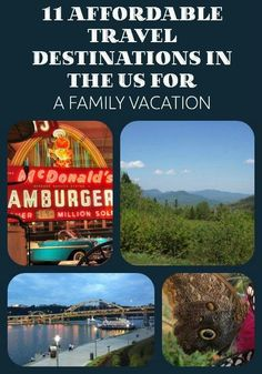 11 Best Affordable Vacations for Families Being on a budget doesn't mean that you can't have an awesome family vacation. Travel to 1 of our 11 favorite cities in the United States for an affordable family vacation full of fun and adventure! Affordable Family Vacations, Best Family Vacations, Family Vacation Destinations, Vacation Trips, Vacation Spots, Family Travel, Travel Destinations, Vacation Travel, Vacation Ideas