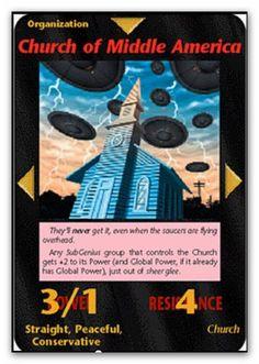 Illuminati Card Church of Middle America