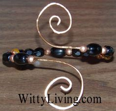 wire wrapped bracelet project tutorial
