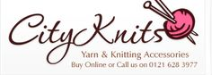 Christine's Wool Shop (UK): http://cityknits.co.uk (Delivery from €8.50) *Araucania, Austermann, Bergere de France, Debbie Bliss, Designer Yarns, Grundl, Jarol, Katia, King Cole, Patons, Rico, Rowan, Sirdar, SMC, Stylecraft, Tivoli, Wendy