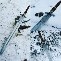Hand Forged Destiny Sword Reproduction