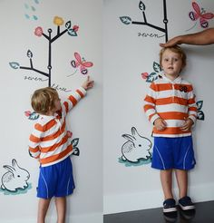Growing Like a Weed Growth Chart by weegallery on Etsy, $42.00