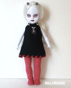 DRESS + LEOTARDS + Spider NECKLACE for LIVING DEAD DOLLS goth fashion NO DOLL | eBay