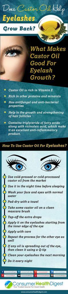 Using Castor Oil To Grow Eyelashes                              …