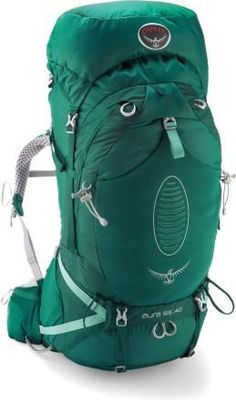 New Osprey pack for longer expeditions