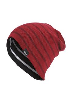 c19992532ec Bergen Reversible Beanie - Red