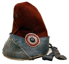 Phrygian cap, late-18th century, used by French Revolutionaries as a symbol of liberty Creative Cockades - Images and History of Cockades