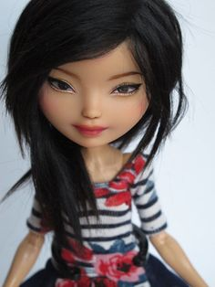 Ever After High Ashlynn OOAK custom doll repaint by theWhandigo