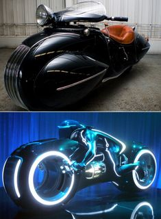 1930 Bike that inspired Tron Legacy Motorcycle