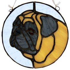 Stained Glass Pug!