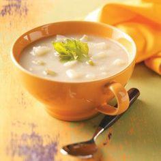 WEEK 6 Potato Soup - adding bacon & cheese of course!