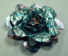 Metal Flowers #tutorial