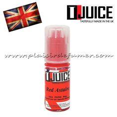 T-JUICE - Red Astaire 10ml Découvrez le célèbre Red Astaire de T-JUICE, un e-liquide made in UK puissant et fort en goût. Un mélange unique de fruits rouges, d'anis, de menthe reconnaissable entre tous. Un e-liquide à la hauteur de sa réputation.